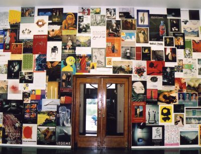 Poster collection at Bergen Kunsthall